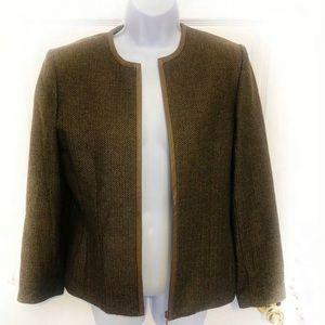 Kate Hill Wool Blend Blazer